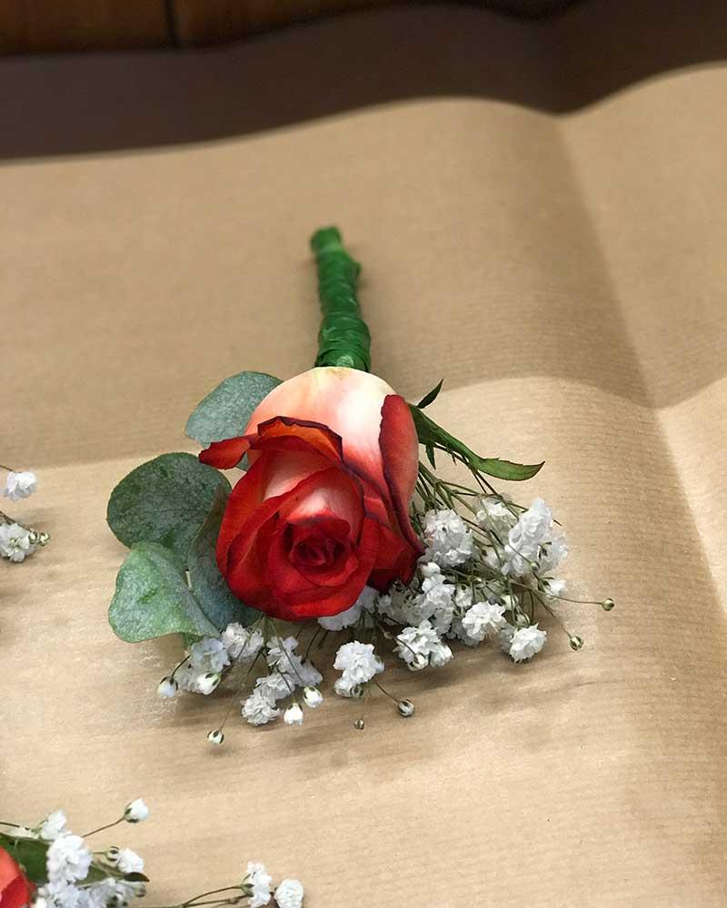 Bruidsarrangement, Bruidsboeket, Bruidswerk Leiden, Noordwijk, Oegstgeest, Leiderdorp – Kanbier's Dochter bloemen & planten