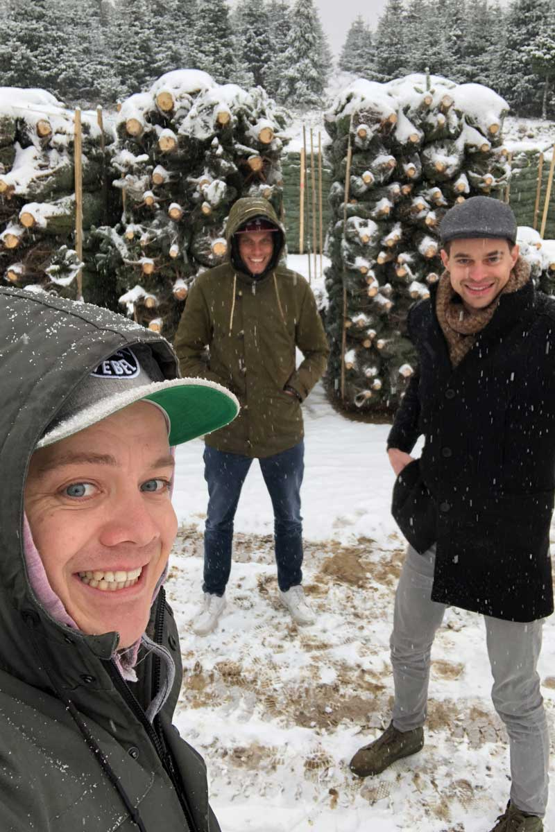 Nordann kerstbomen uit Sauerland in Leiden en Leiderdorp - Kanbier's Dochter